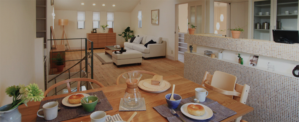 細部までこだわる家づくりを実感できる、完全フルオーダー