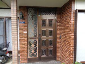 玄関ドア カバー工法