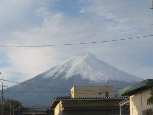 富士山の雪